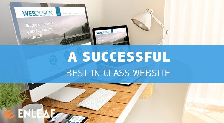 BEST IN CLASS WEBSITE DESIGN